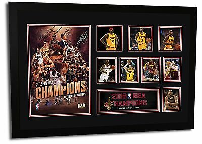 Cleveland Cavaliers 2016 Nba Champions- James Signed Limited Edition Memorabilia