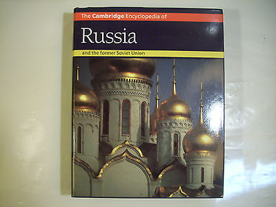 The Cambridge Encyclopedia of Russia and former Soviet Union 1994 Huge VGC 39-1A