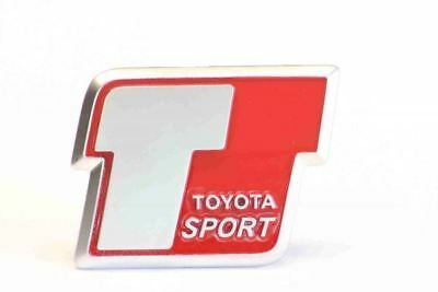 Genuine Toyota Corolla T Sport 2004- Front Grille Emblem Badge - 75312-12280