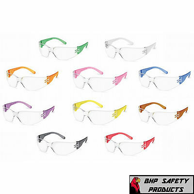 Gateway 4699 Starlite Gumballs Safety Glasses Multi Color Frames Party (10 Pair)