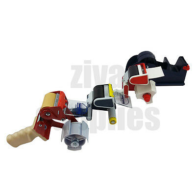 All Types Packing TAPE GUNS DISPENSERS For Sealing Parcels Boxes Sellotape Hand