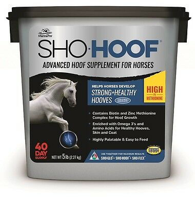 Manna Pro SHO-HOOF Advanced Hoof Supplement for Horses. 40 day Supply
