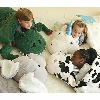 Kids Animal Adventure Sleeping Bag Christmas Gift Camping Fun