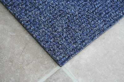 Bedford Blue Carpet Tiles - Commercial - Domestic Office Heavy Use Flooring (b)