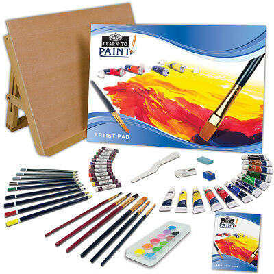 Learn To Art Sets Paint 59Pc RSETLT1