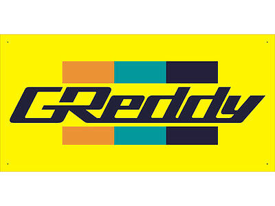 Advertising Display Banner for Greddy Sales Service Parts