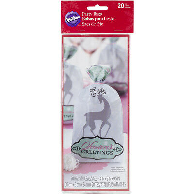 Treat Bags 20/Pkg  Snowflake W3291