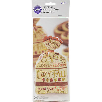 Standard Party Bags 20/Pkg Cozy Fall W20453