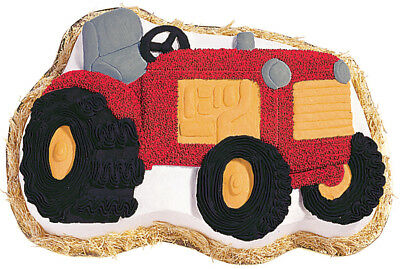 """Novelty Cake Pan Tractor 13.5""""X9.5""""X2"""" W2105CP-2063"""