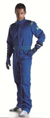 Sparco Indoor Karting Suit - Brand New - Blue - Size X-Large