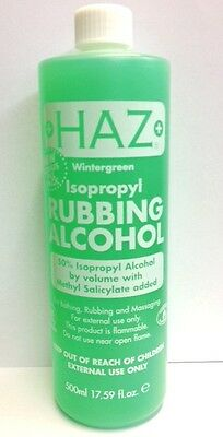 Haz Wintergreen Isopropyl Rubbing Alcohol 500ml