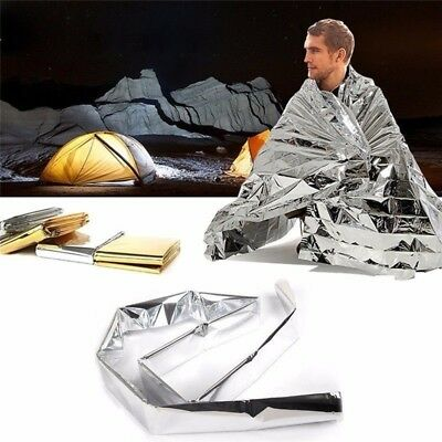 Water Proof Emergency Survival Rescue Blanket Foil Thermal Space First
