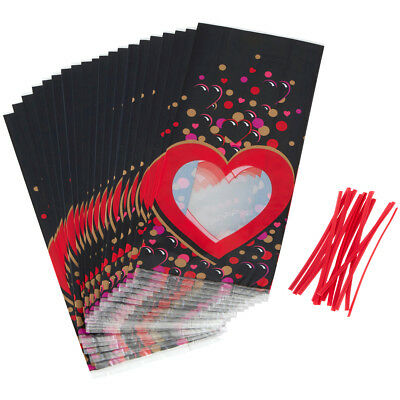 "Treat Bags 4""X9.5"" 20/Pkg Heartily W125518"