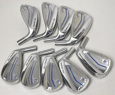 2017 NEW Taylormade Gloire F2 Golf Iron Set 4-9 PAS 9pcs Club Heads Only Forged