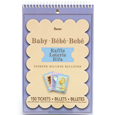 Party Game Sheets 50/Pkg Baby Raffle Tickets 1405-036