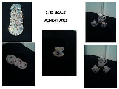 * Assorted 1:12 Scale Miniature Kitchen Accessories For A Dolls House