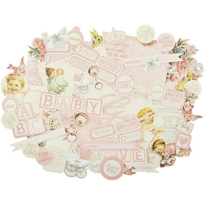 Peek A Boo Collectables Cardstock Die Cuts Girl CT867