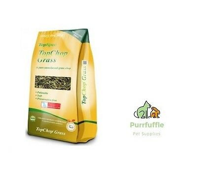 15Kg Topspec Topchop Grass - A Natural Soft Blend Of Dried Grass Horse Food Feed