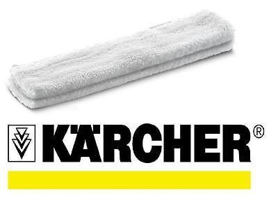 Genuine KARCHER microfiber cleaning cloths (2pcs) for window vac extension pole