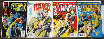 Marvel The Adventures of Cyclops and Phoenix #1-4 COMPLETE SET - Young Cable!