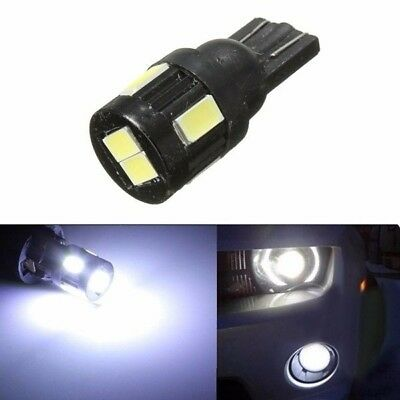 1.6W High Power T10 5630 Heat Sink 6SMD License Plate Wedge LED Light Bulb