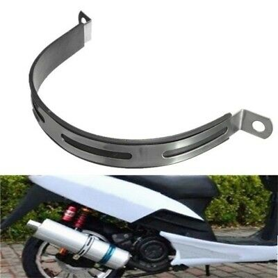 Motorcycle Exhaust Silencer Pipe Clamp R5 R9 Hanging Strap Mount Bracket