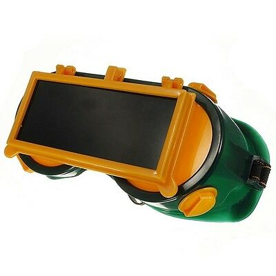 Welding Goggles Flip Up Protection Darken Glasses Rectangle Safety