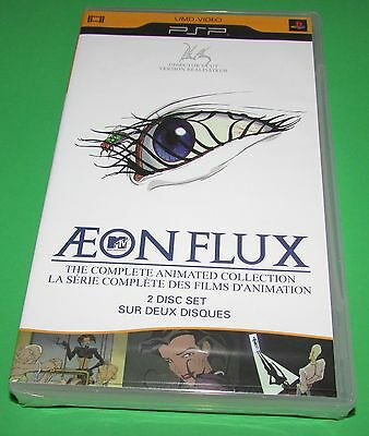 Aeon Flux Complete Animated Collection  Playstation PSP Factory Sealed