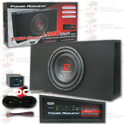 STAGE 3 DUAL SEALED SUBWOOFER MDF ENCLOSURE FOR POWER ACOUSTIK MOFO 12X