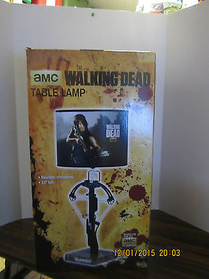 The Walking Dead Table Lamp Daryl Dixon Crossbow Bedroom Table Collect Endtable