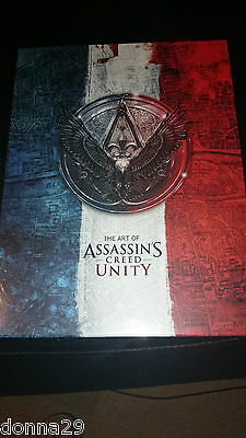 The Art of Assassin' Creed Unity Limited Edition Signed Hardcover-500 Units Only