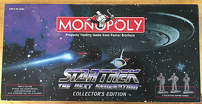 Star Trek The Next Generation Monopoly Game Collectors Edition