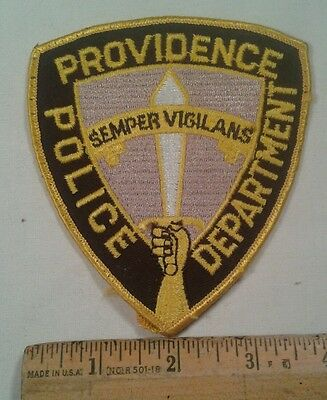 Providence Rhode Island Police Officer Department Patch