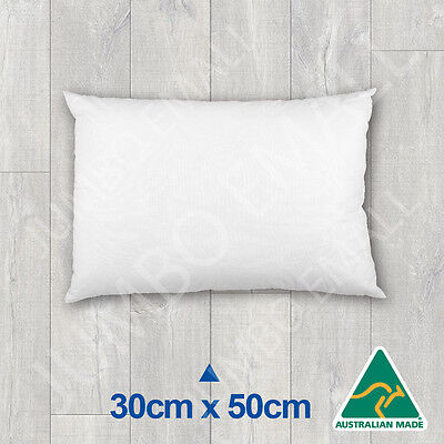 Aust Made Cushion Insert Polyester Premium Lofty Fibre--30cm x 50cm