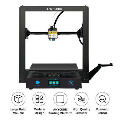 Anycubic 3D Printer Heated Bed Sticker with Tape 200mm Round Print Plate Tape