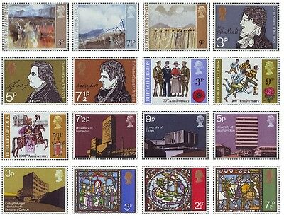 Mint Commemorative Stamps 1971 Ulster, Universities - Buy Individually