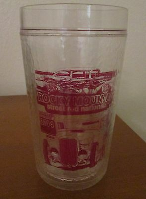 24 OZ LARGE TUMBLER by ROCKY MOUNTAIN STREET ROD NATIONALS 2014 13TH-ANNUAL
