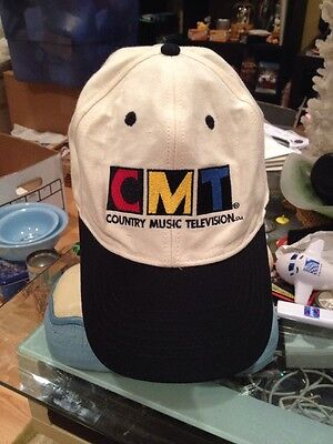 Vintage Swingster CMT Country Music Television Snapback Black Hat Cap