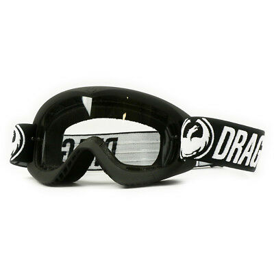 NEW Dragon Mx Kids MDX Coal 2 Black Clear Lens Youth Dirt Bike Motocross Goggles