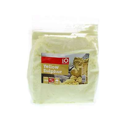 Sulphur Yellow iO Horse Equine 1kg Health Supplement Amino Acid Vitamins Insulin