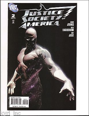 JUSTICE SOCIETY of AMERICA Vol. 3 #2 ALEX ROSS COVER JSA GEOFF JOHNS DC COMIC S7
