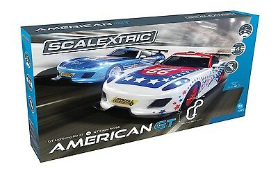 Scalextric American GT 1/32 Scale Slot Car Race Track Set C1361