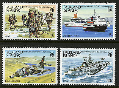 Falkland Islands  1983  Scott #375-378  Mint Never Hinged Set