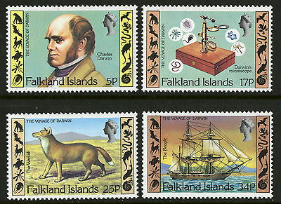 Falkland Islands  1982  Scott #344-347  Mint Never Hinged Set