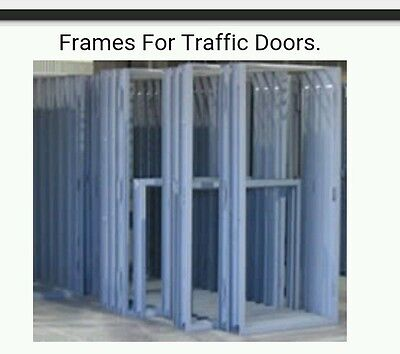 HOLLOW METAL TRAFFIC DOOR FRAMES. 3' x 7' Commercial Swing DOOR FRAME.