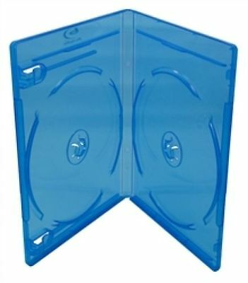 Double ( 2 ) Blu-Ray Case - Package of 5 cases