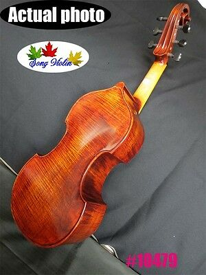 "Baroque style SONG Brand concert 6 strings 16"" viola da gambab good sound#10479"