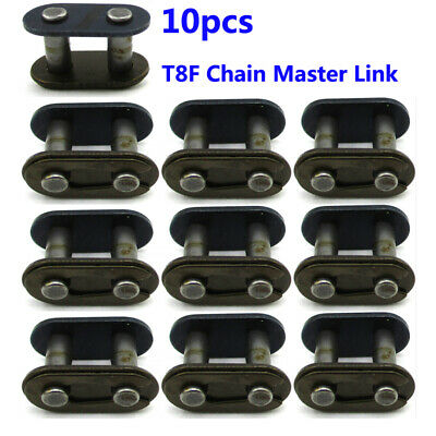 10x T8F Chain Master Link For Mini Moto Quad ATV Dirt Pocket Bike 43cc 47cc 49cc