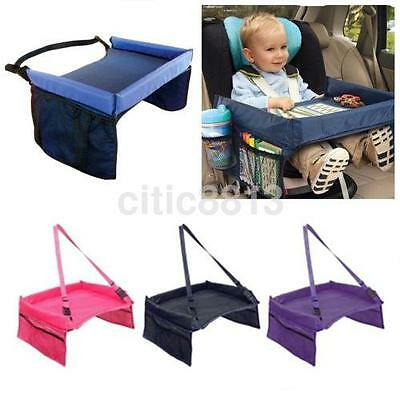 Child Playing Eating Tray for Car Seat Plane and Buggy Toddler Portable Travel U