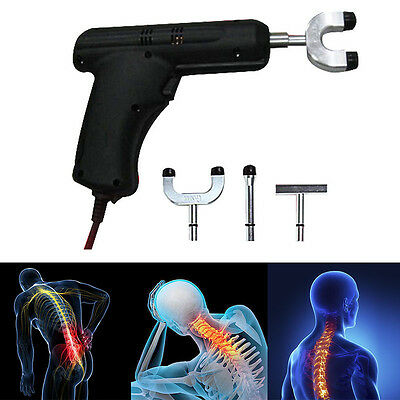 Electric Adjustable Therapy Chiropractic Digital Spine Correction Massager Tool